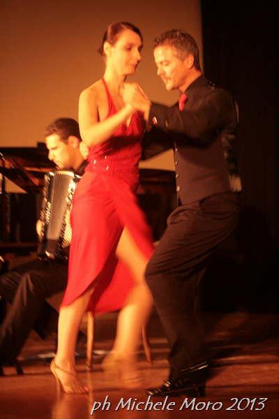 Querido Tango con Caterina Santinello e Luciano Sottovia ph Michele Moro 2