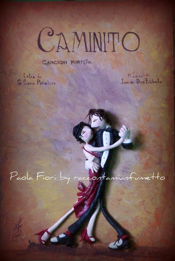 I love TANGO.it - Quadri - Paola Fiori - Caminito 2