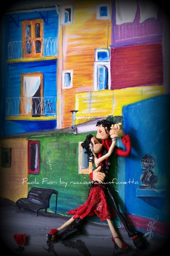 I love TANGO.it - Quadri - Paola Fiori - HELGA Y ANDREA