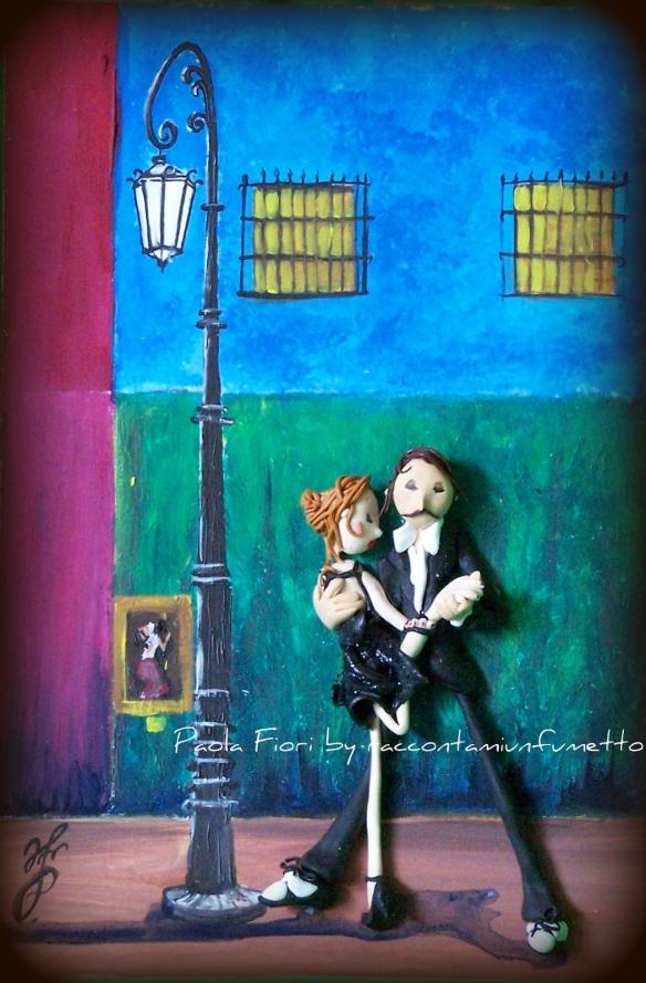 I love TANGO.it - Quadri - Paola Fiori - Mi noche triste