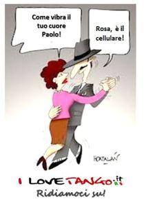 I LOVETANGO.it - Il portale italiano sul tango - Ridiamoci su - Vignette - Como vibra tu corazon