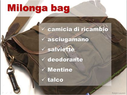 I LOVETANGO.it - La comunità e il portale italiano sul tango - Ridiamoci su - Vignette - Milonga bag 2
