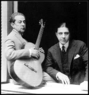 Il duo Carlos Gardel e Josè Razzano