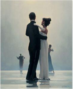 Jack Vetriano - Dance me to the end of Love - michele moro tango blog