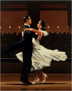 jack Vetriano - Take this walz - michele moro tango blog