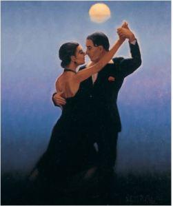 Jack Vetriano - Tango dancer - tango michele moro blog