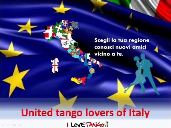 United tango lovers of Italy - I LoveTango.it