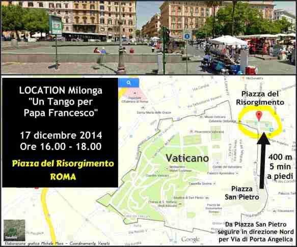 Location Milonga Un Tango per Papa Francesco 17.12.2017 - Coordinamento Veneto - Michele  Moro